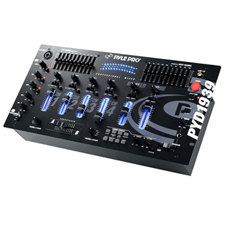 Pyle Pro DJ Mixer w/10 Band EQ and Sound Effects