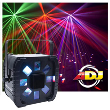 American DJ Quad Phase LED DMX Moonflower Light