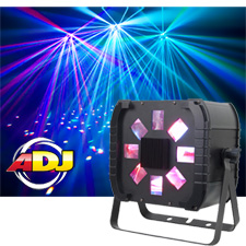 American DJ Quad Phase Go Moonflower Effect