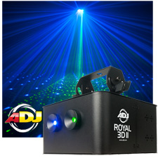 American DJ Royal 3D II Intelligent Laser