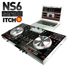 Numark NS6 with Serato DJ Software