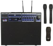 Vocopro DVD-SOUNDMAN Multi-Format 4-Channel Wireless Karaoke System