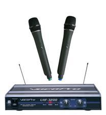 Dual Channel Wireless Mic - Vocopro UHF-3200