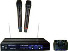 Dual Channel Wireless Mic - Vocopro UHF-3205
