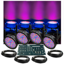 Up-Lighting System - Chauvet SlimPar 56 Up X4