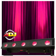 American DJ WiFLY Bar QA5 LED Linear Fixture