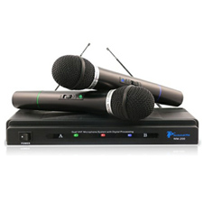 Technical Pro WM-200 2-Channel Wireless Microphone System