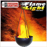 Hanging Flame Lamp