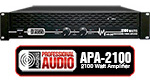 2100 Watt DJ Amplifier - Adkins Pro Audio