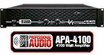 4100 Watt DJ Amplifier - Adkins Pro Audio
