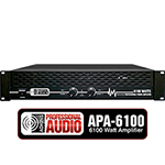 6100 Watt DJ Amplifier - Adkins Pro Audio