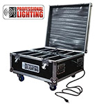 Charging Flight Case for LED Wireless Battery Lights - Holds 10