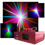 RGB Full Color Scanning Laser 250 mw