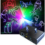 Full Color RGB Animation Laser 300 mw