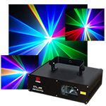 RGB Full Color Scanning Laser 600 mw