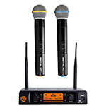 Nady DW-22 HT HT 24 bit Dual Digital Handheld Wireless UHF Microphone System
