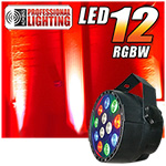 Adkins Pro Lighting LED 12 RGBW Color Mixing LED Par Can