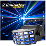 Eliminator Lighitng LED Array RGB Multi Colored Beams