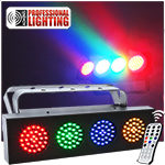 DJ LED Bank RGBA - Adkins Professional Lighting