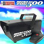 Fog Machine - 500 Watt Mini Fog Machine with Remote