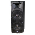 Pyle Pro PADH153 1600 Watt Dual 15'' 3 Way PA Speaker Cabinet
