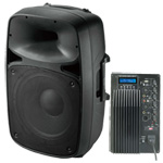 Gem Sound Portable Sound System w/ Wireless Mic