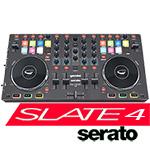 Gemini Slate 4 4-Channel Slim Serato DJ Intro Midi Controller