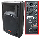 15-inch 1200 Watt Bi-Amp 2-Way Powered HD Speaker System by Adkins Pro Audio