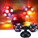 Visual Effects V-0231JR Vei Double Disco Ball Junior