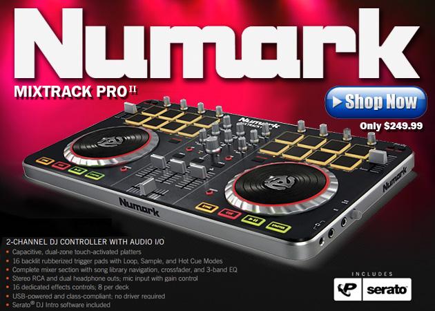 Numark Mixtrck Pro II