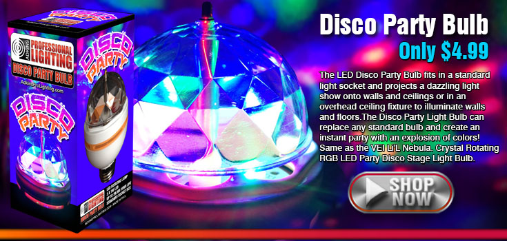 Disco Party Bulb
