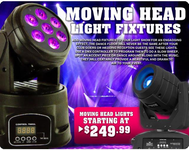 Moving Head Lights