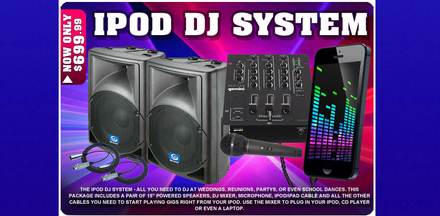 iPod DJ System