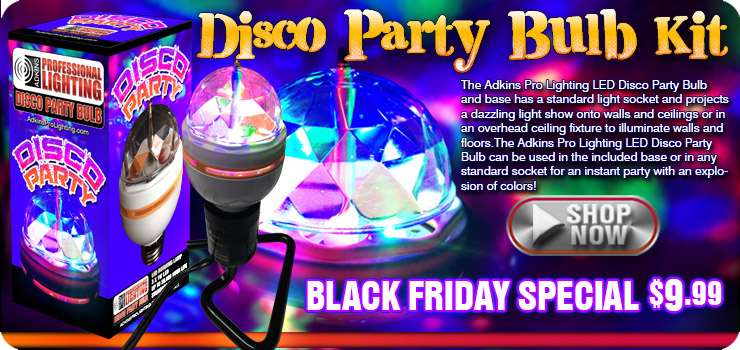 Disco Party Bulb Kit