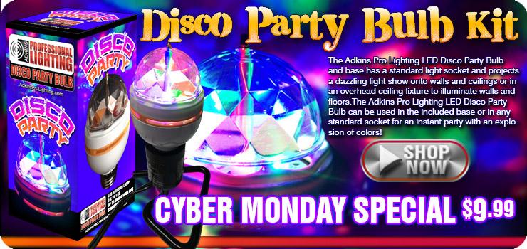 Disco Party Bulb Kit