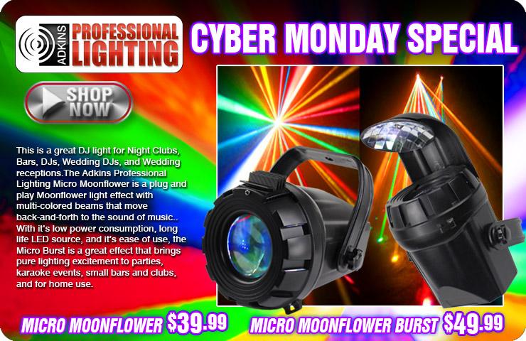 Adkins Pro Lighting Micro Moonflower