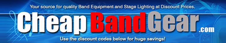 Cheap Band Gear