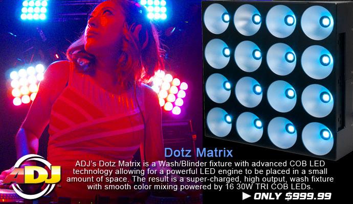American DJ Dotz Matrix
