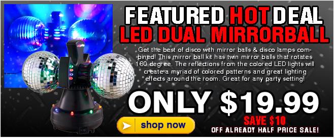 Dual Mirror Ball