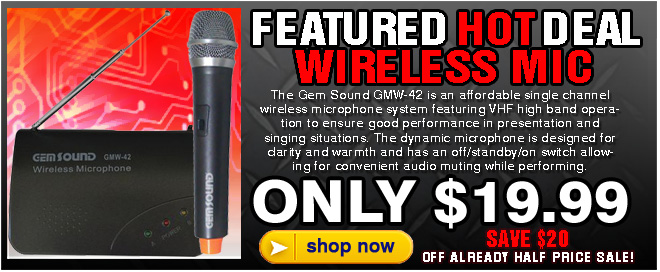 Gem Sound Wireless Mic