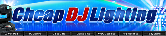 Cheap DJ Lighting