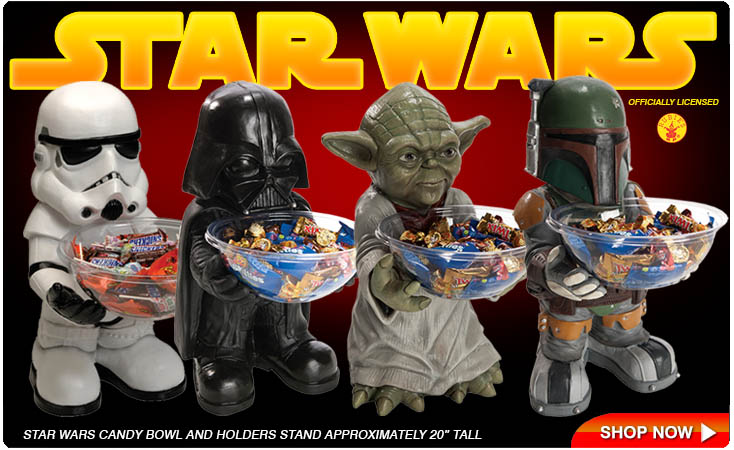 Star Wars Candy Holders