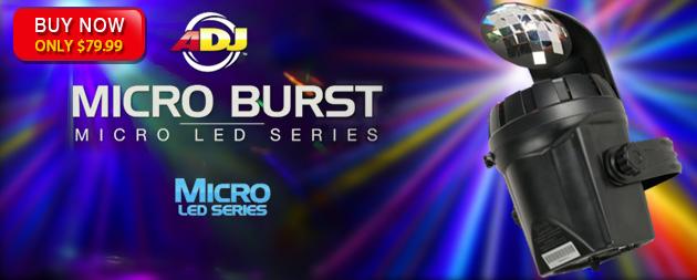 American DJ Micro Burst