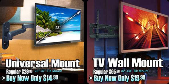TV Wallmount Container