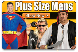Plus Size Mens Halloween Costumes