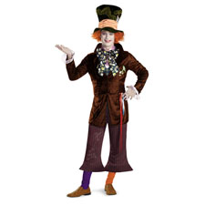 Alice in Wonderland Mad Hatter PRESTIGE Costume