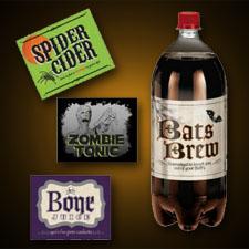 Shocktails 2 Liter Bottle Label