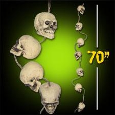 String of Skulls-70 inch