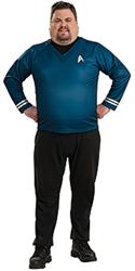 Star Trek BLUE SHIRT - Halloween Costumes