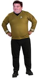 Star Trek GOLD SHIRT - Halloween Costumes